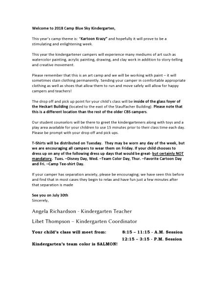 kindergarten letter 2018 CBS -page0001
